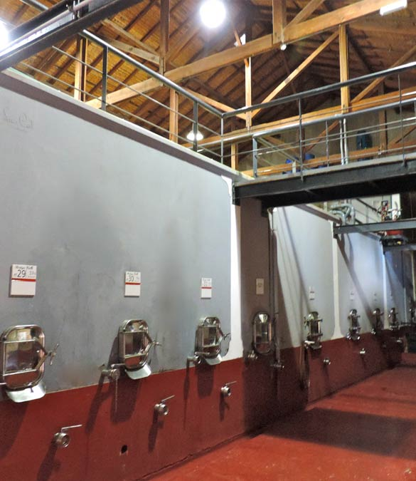 Wine-making-room